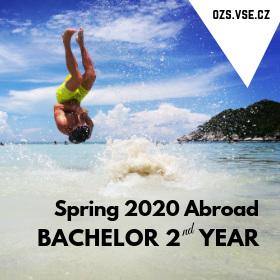 Exchange Program Applications for 2nd year Bachelor Students – Spring 2020