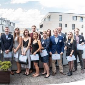 Ocenění nejlepších studentů Národohospodářské fakulty VŠE v Praze
