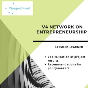 Finální publikace mezinárodního projektu Visegrádského fondu: závěry a doporučení k rozvoji podnikání v zemích V4 (NF-KREG byla partnerem projektu)