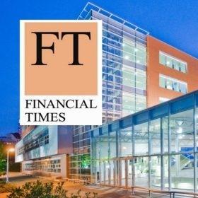 """V žebříčku Financial Times """"European Business Schools Ranking 2019"""" se VŠE umístila na 55. místě"""